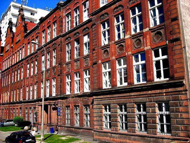 Główny budynek wydziału biologii