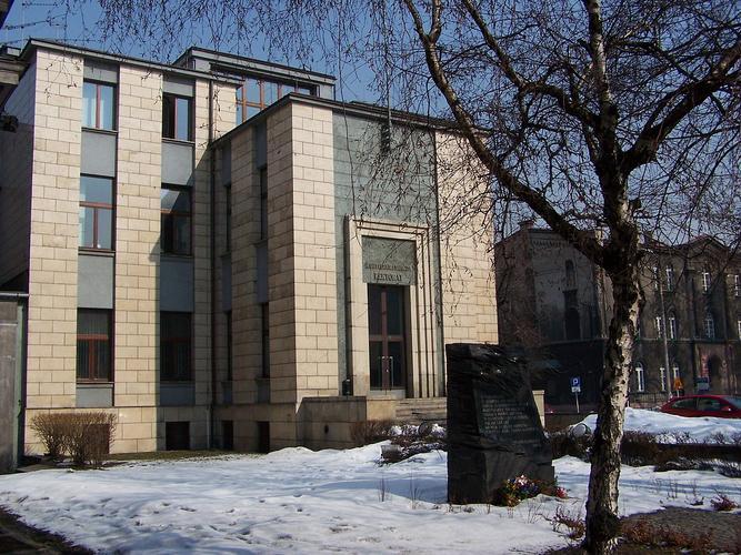 Rektorat Akademii Medycznej w Katowicach - By Jan Mehlich, CC BY-SA