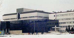 Biblioteka Uniwersytetu Rzeszowskiego i budynek Instytutu Biologii przy ulicy prof. Stanisława Pigonia - By ABach, CC BY-SA 3.0