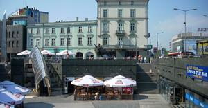 Plac Stulecia w Sosnowcu - By Cichociemny, GFDL