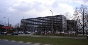 Samodzielny Publiczny Centralny Szpital Kliniczny WUM przy ul. Banacha - By Robert Wielgórski a.k.a., CC BY-SA